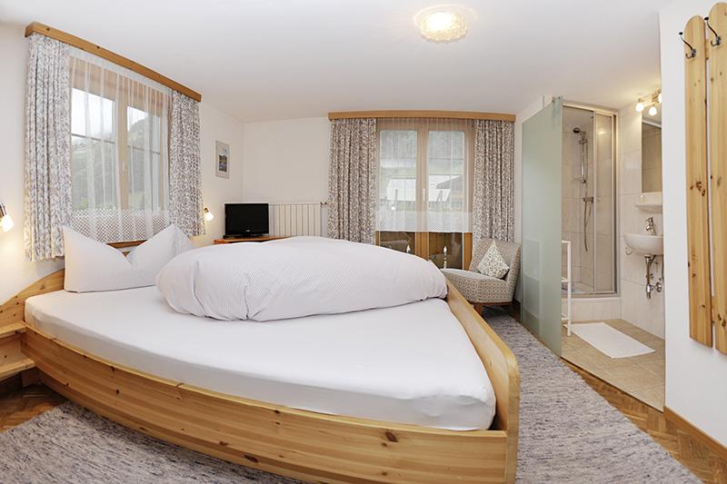Schlafzimmer im Haus Sieglinde