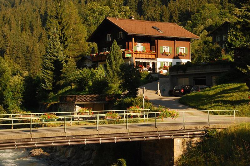 Sommerurlaub im Haus Sieglinde im Silbertal (Montafon)