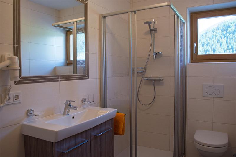 Ferienwohnung Marchenthorn Blick - Badezimmer