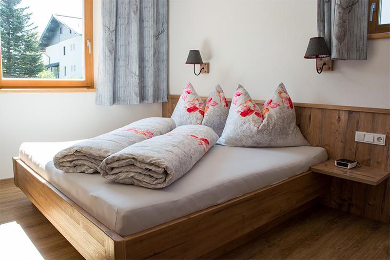 Ferienwohnung Marchenthorn Blick - Schlafzimmer