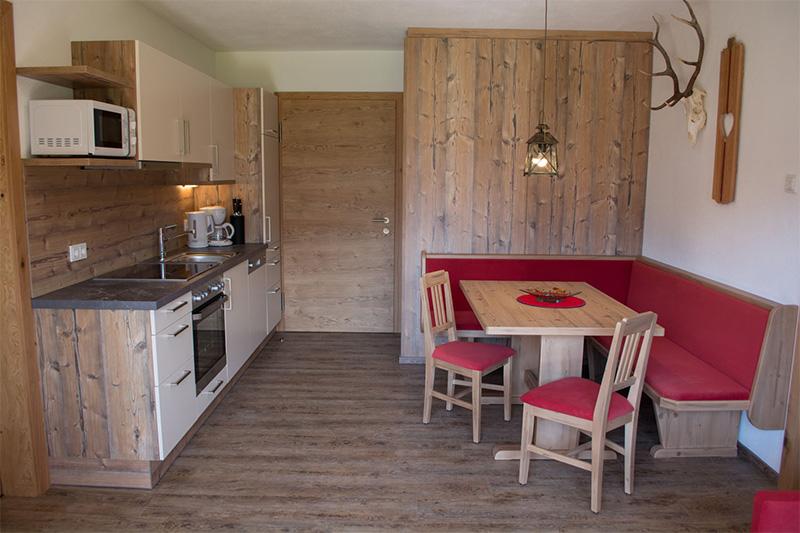 Ferienwohnung Marchenthorn Blick - Wohnküche