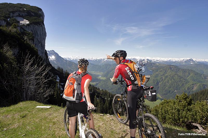 Mountainbiken im PillerseeTal - Kitzbüheler Alpen
