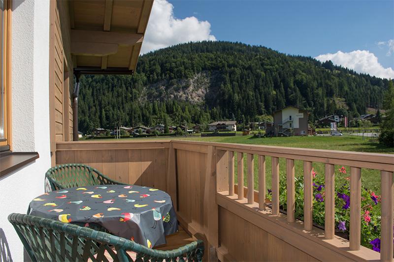Ferienwohnung Rotschartl Blick - Ausblick vom Balkon