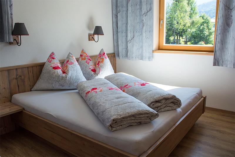 Ferienwohnung Rotschartl Blick - Schlafzimmer