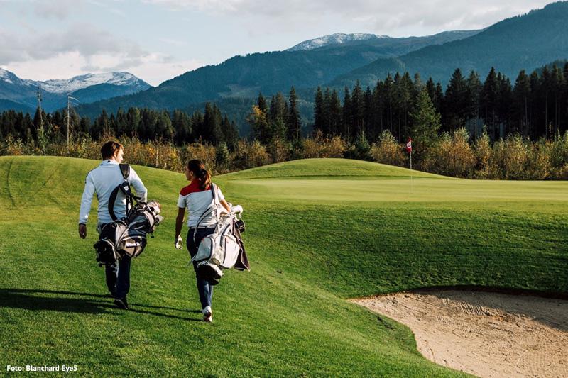 18 Loch Championship-Golfplatz in Westendorf