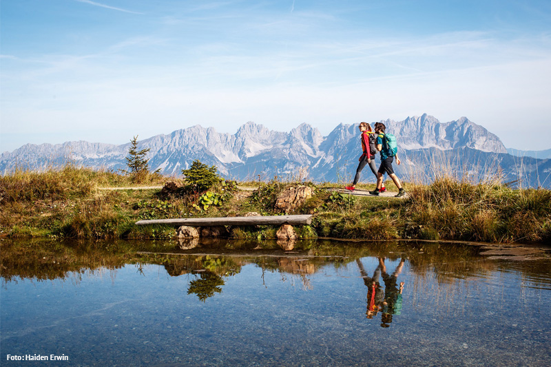 Wandern in den Kitzbüheler Alpen - Brixental