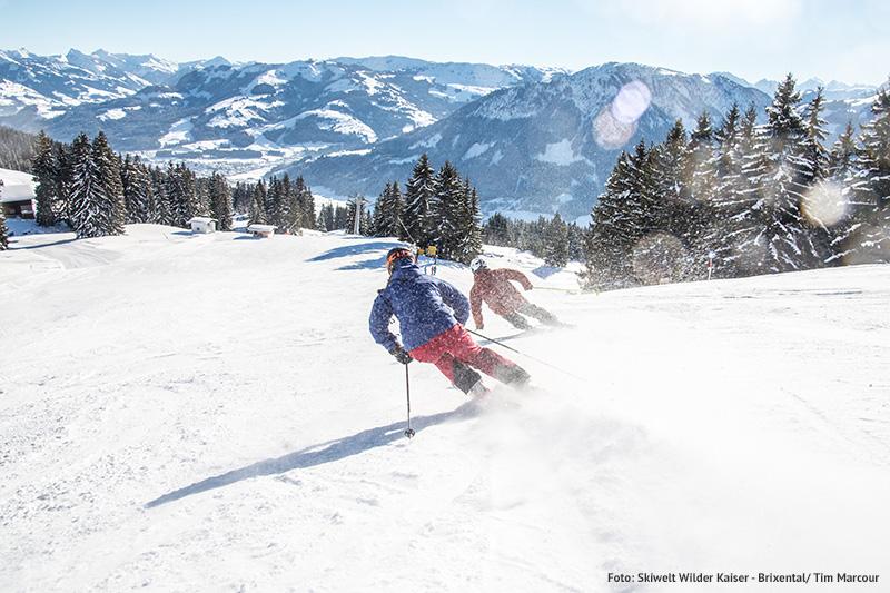 Skiurlaub in der SkiWelt Wilder-Kaiser - Brixental