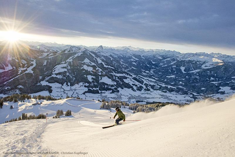 Skifahren im Brixental