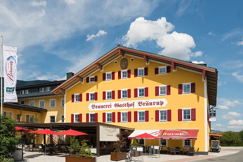 Sommerurlaub im Hotel Bräurup in Mittersill