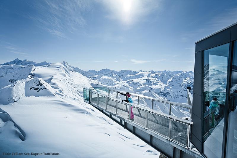 Ausblick vom Kitzsteinhorn