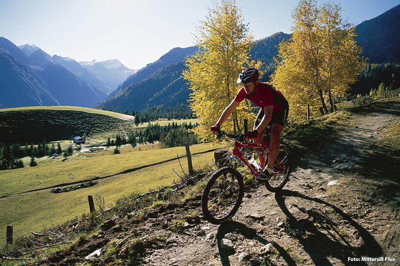 Pures Rad-Vergnügen zwischen den Hohen Tauern und Kitzbüheler Alpen