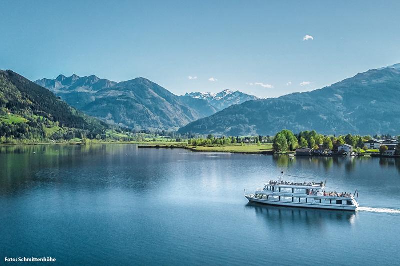 Schifffahrt am Zeller See | Nur 30 Min. vom Hotel aus entfernt