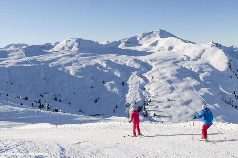Gletscherskifahren am Kitzbüheler Horn