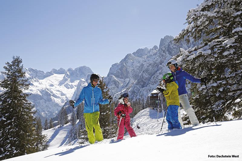 Familienfreundliches Skigebiet Dachstein West