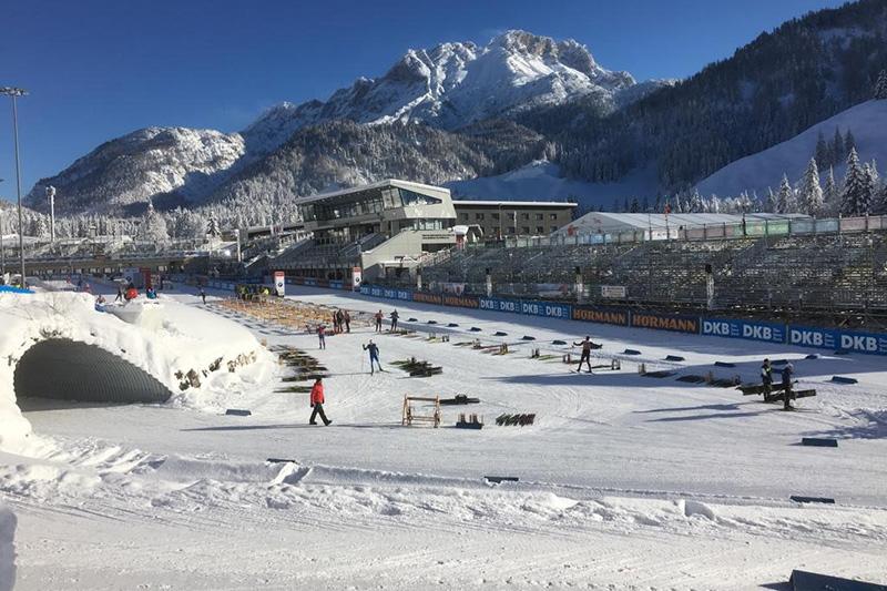 Hochfilzen ist durch das jährliche Biathlon Weltcup als Biathlonhochburg bekannt