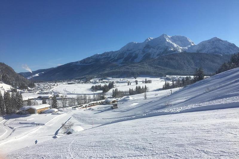 Im Winter ist Hochfilzen für seine Schneesicherheit bekannt