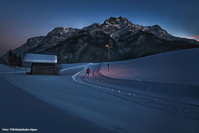Langlaufen im Pillersee Tal
