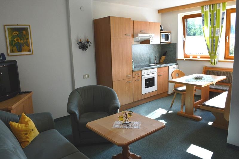 Wohnung 01 - Wohnraum mit Küche