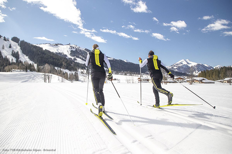 Langlaufen im PillerseeTal in Tirol