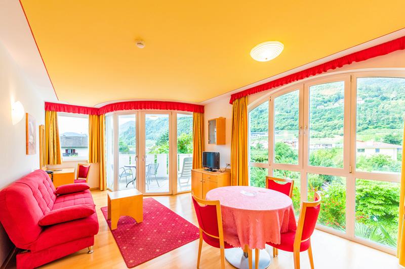 Super Suite mit Wohnbereich