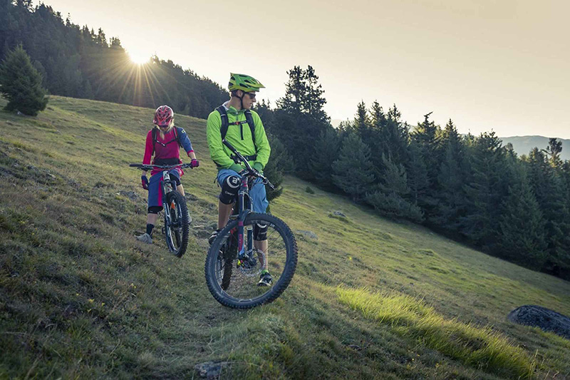 Erlebnisreiches Biken in Lana Südtirol