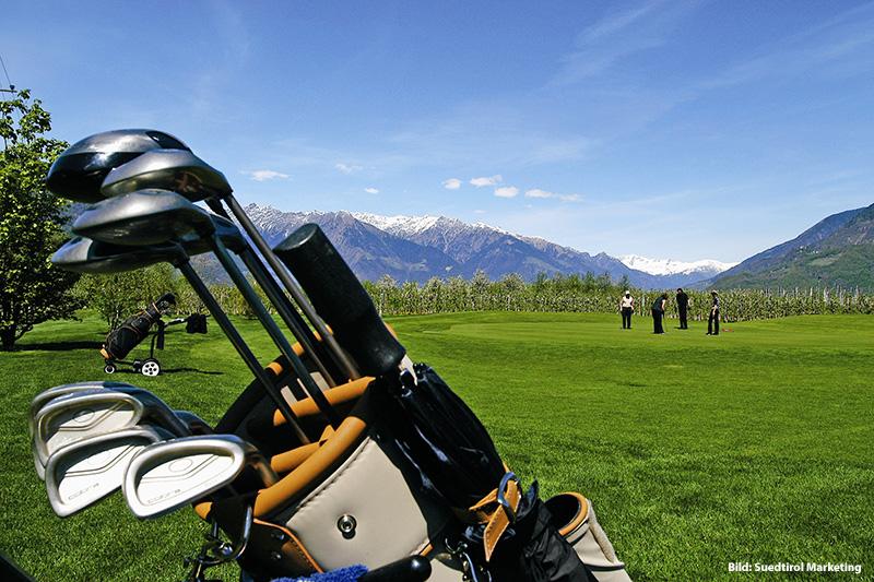 5 Automin. zum Golfplatz Lana