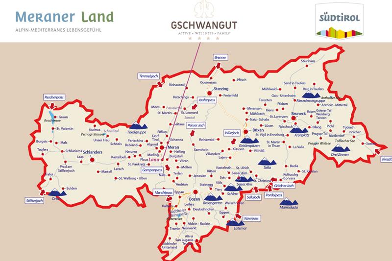 Du willst die Südtirolkarte näher sehen? Taaada - hier siehst Du die Karte