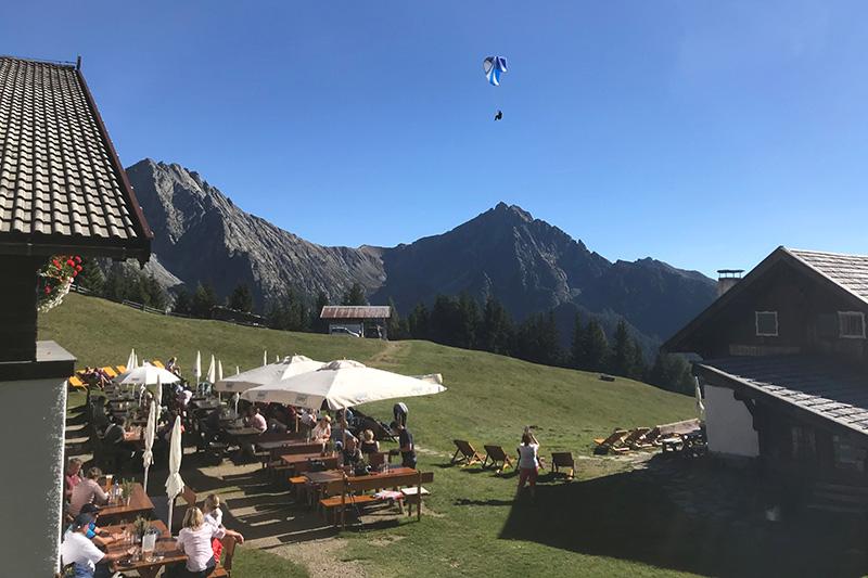 Paragliden im Passeiertal