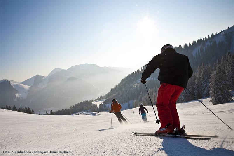 Skiurlaub rund um die Berge Stümpfling und Rosskopf