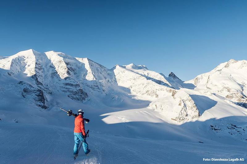 Freeride-Träume werden im Skigebiet Diavolezza wahr