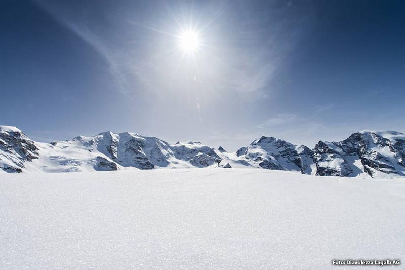 Skigebiet Diavolezza
