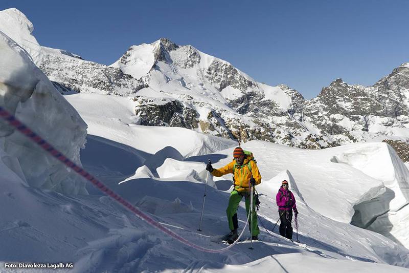 Diavolezza ist das Skitouren-Mekka der Alpen