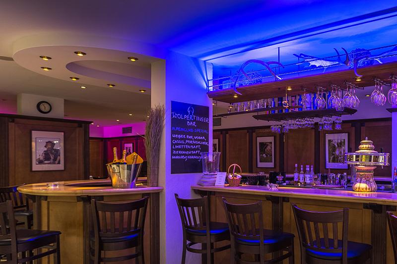 Hauseigene Wolpertinger Bar