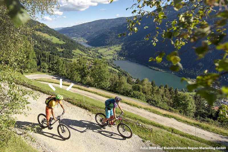 Mountainbiken und Radfahren in Bad Kleinkirchheim