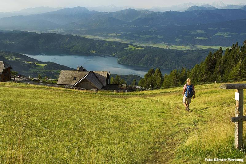 Wandern am Millstaetter See
