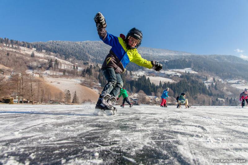 15 Minuten zum Brennsee - Winterspaß garantiert!
