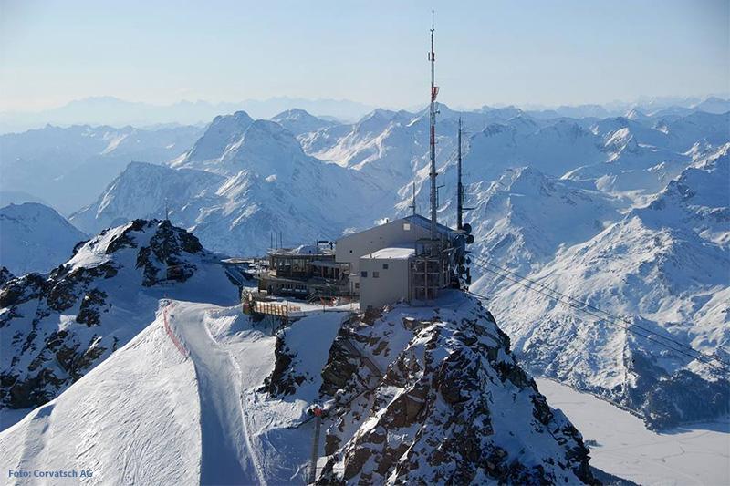 Restaurant 3303 - Das höchstgelegene Restaurant in Graubünden