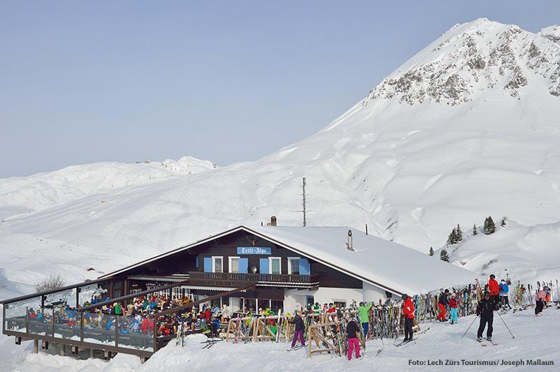Bergrestaurant Trittalpe bei Zürs