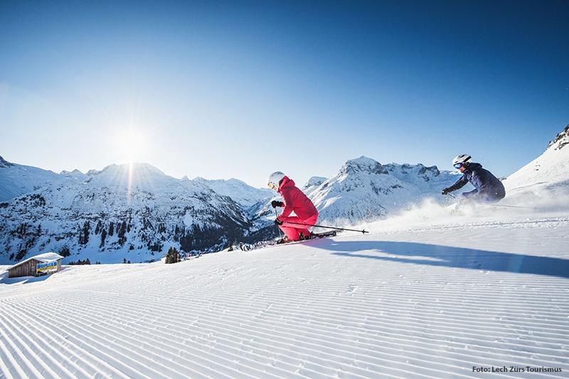 Das Skigebiet Lech-Zürs gehört zum Skiverbund Ski Arlberg