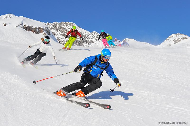 Skischule für Erwachsene im Skigebiet Lech-Zürs