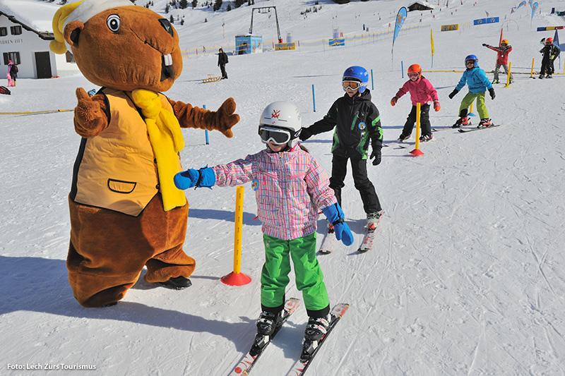 Skischule für Kinder im Skigebiet Lech-Zürs