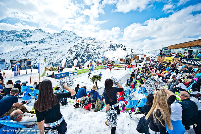 Snow Volleyball-European Tour in St. Anton am Arlberg