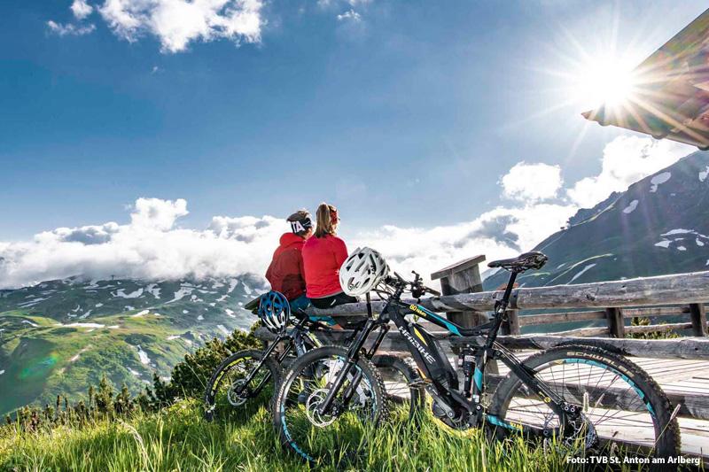 E-Biken am Arlberg