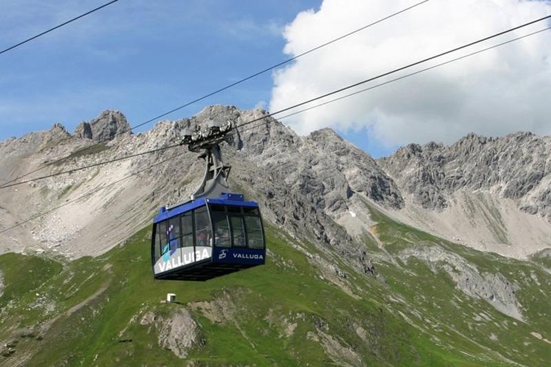 Vallugabahn am Arlberg
