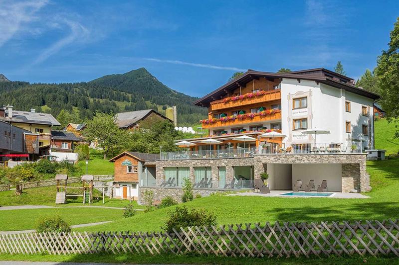 Sommerurlaub im Hotel Burtschahof in Bürserberg