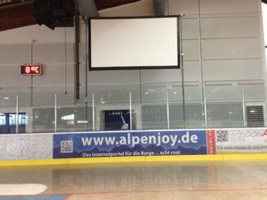 Banner Eishalle Harsefeld