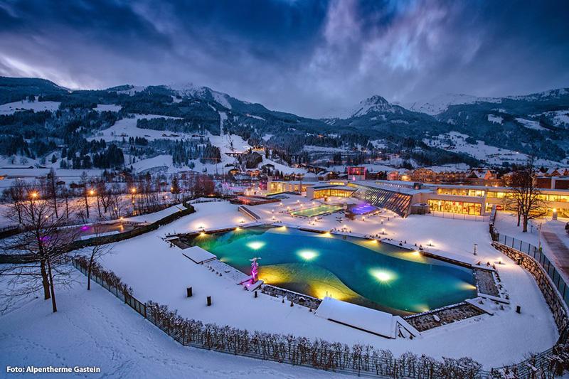 Alpentherme Gastein 6 Gehminuten vom Hotel