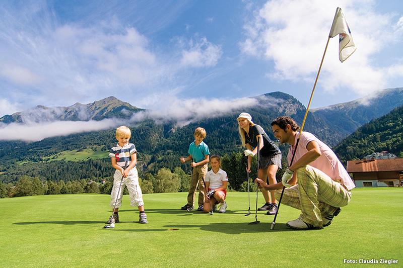 10 Minuten zum Golf Club Gastein