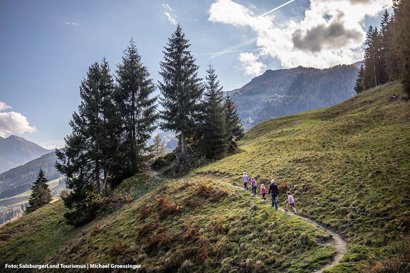 Wandern von Bad Gastein auf den Graukogel