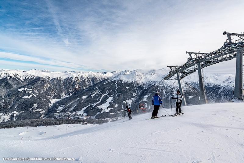 Stubnerkogelbahn - Aussicht von oben